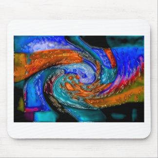 Abstrakte Kunstmalereiplakatkarten-T - Mousepad