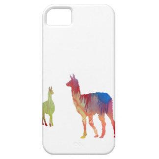 Abstrakte Lama-Silhouette Etui Fürs iPhone 5
