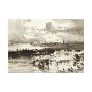 Abstrakte Landschaft 1830 Gespannte Galerie Drucke
