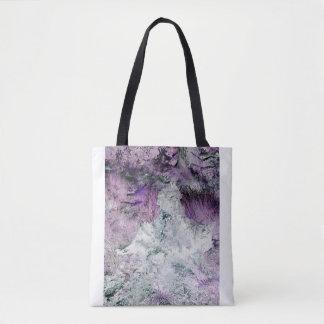 Abstrakte Landschaft Tasche
