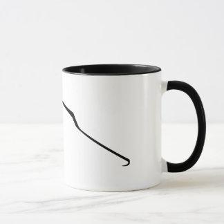 Abstrakte Linie-Kunst Katzen-Tasse Tasse