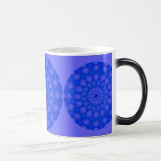 Abstrakte Lotos-Blume Tasse Mandala