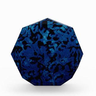 Abstrakte Magie - Marine-Blaugrunge-Schwarzes Auszeichnung