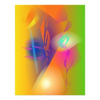 Abstrakte Malerei Individuelle Flyer