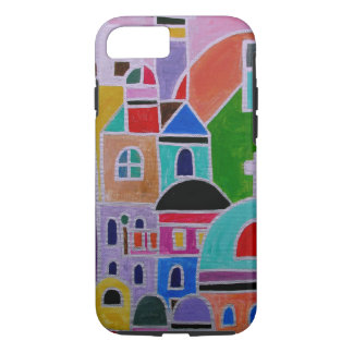 Abstrakte Malerei Guanajuatos Mexiko iPhone 7 Hülle