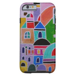 Abstrakte Malerei Guanajuatos Mexiko Tough iPhone 6 Hülle