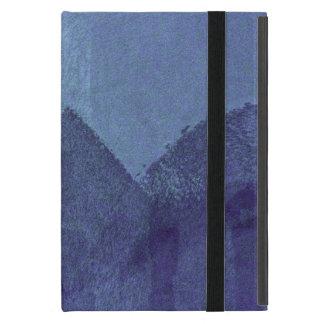 Abstrakte Malereikunst der blauen Seeozeannatur Schutzhülle Fürs iPad Mini