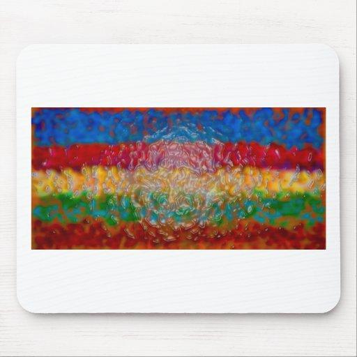Abstrakte Malereiplakat-T-Shirts Drucke der feinen Mousepad