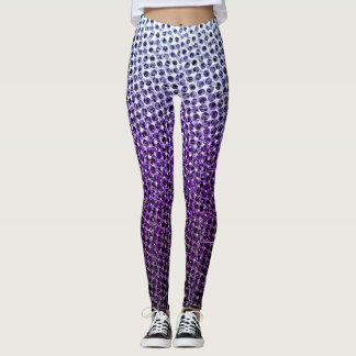 Abstrakte Masche Leggings
