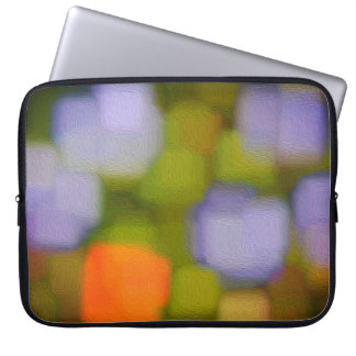 Abstrakte Mehrfarbenmalerei Laptopschutzhülle