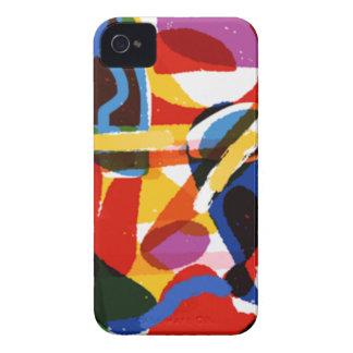Abstrakte Mod-Welt Case-Mate iPhone 4 Hülle
