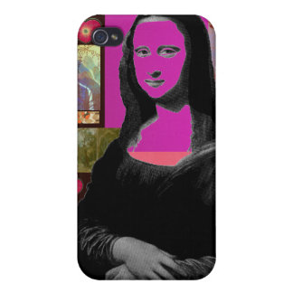 Abstrakte Mona Lisa iPhone 4/4S Cover