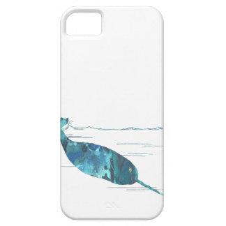 Abstrakte narwhal Silhouette Schutzhülle Fürs iPhone 5