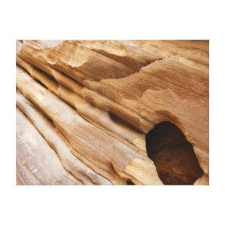 Abstrakte Natur-Fotografie der Zion Leinwanddruck