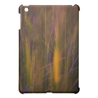 Abstrakte Natur in der Orange iPad Mini Hülle