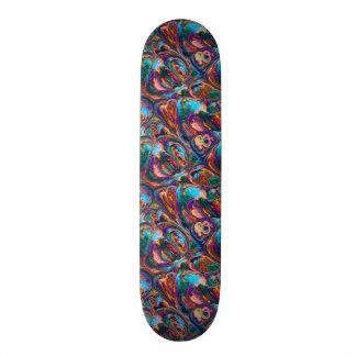 Abstrakte Öl-Malerei inspiriert Individuelle Skateboarddecks