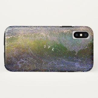 Abstrakte Ozean-Welle iPhone X Hülle