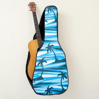 Abstrakte Palmen Gitarrentasche