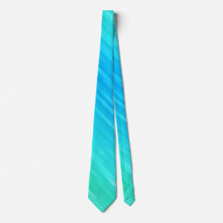 Abstrakte Pastellkunst-aquamarines Türkis-blaues Krawatten