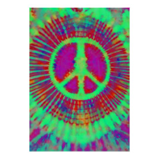 Abstrakte psychedelische poster