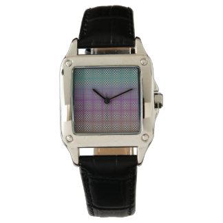 Abstrakte Quadrate 3 Armbanduhr