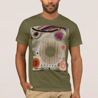 Abstrakte Quadrate und Kreise T-Shirt
