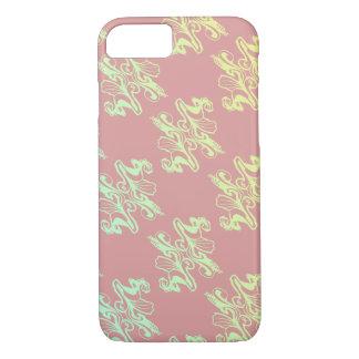 Abstrakte rosa Moddamastbeschaffenheit iPhone 7 Hülle