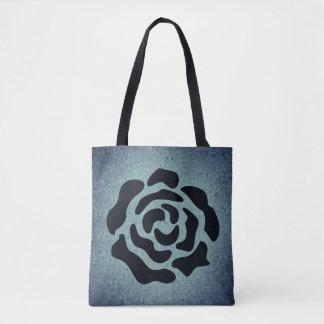 Abstrakte Rosen-Tasche Tasche