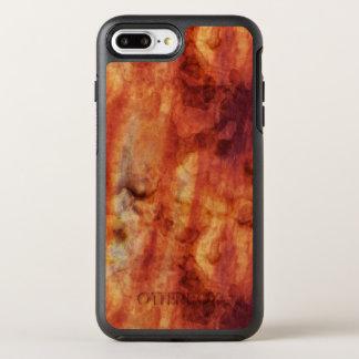 Abstrakte rostige Rottöne und Orangen OtterBox Symmetry iPhone 8 Plus/7 Plus Hülle