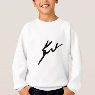 Abstrakte Rotwild Sweatshirt