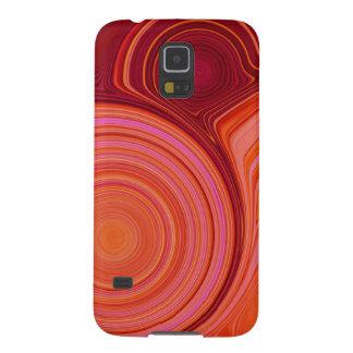 Abstrakte Schaffung (Kastanienbraun) Samsung Galaxy S5 Cover