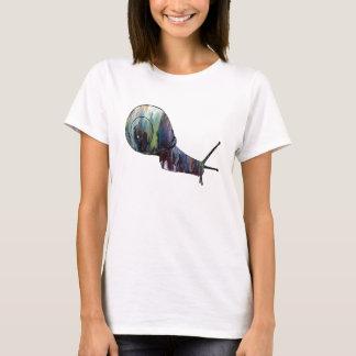 Abstrakte Schnecke-Silhouette T-Shirt