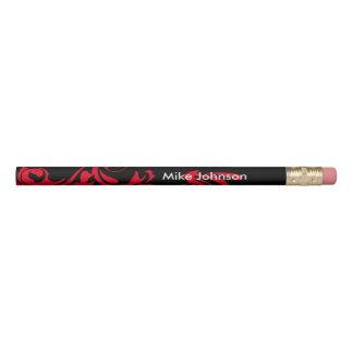 Abstrakte schwarze Hintergrund-Farbe des Bleistift
