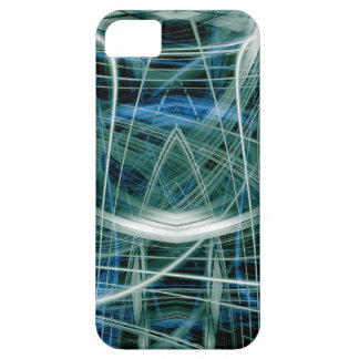 Abstrakte Spuren des grünen Lichtes iPhone 5 Schutzhülle