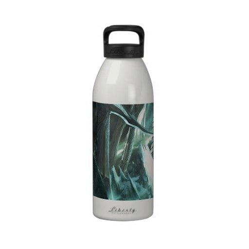Abstrakte Stadt-Priester-Welt Trinkflaschen