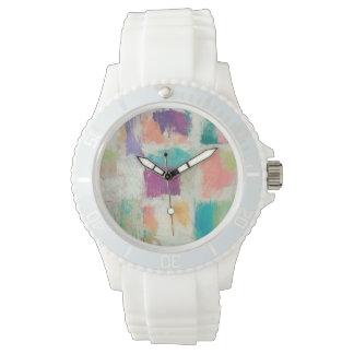 Abstrakte SteinMike Schick der Popsicles-II des Armbanduhr