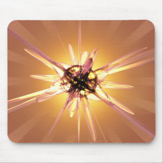 Abstrakte Sternexplosion Mousepad