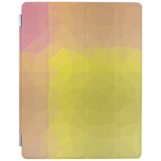 Abstrakte u. elegante Geo Entwürfe - goldener Berg iPad Hülle