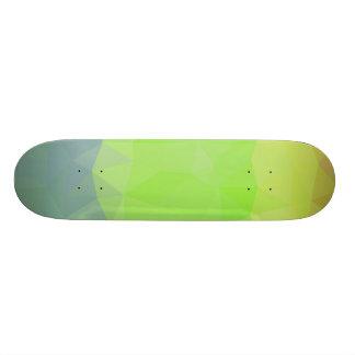 Abstrakte u. elegante Geo Entwürfe - Ozean zum zu Skateboard