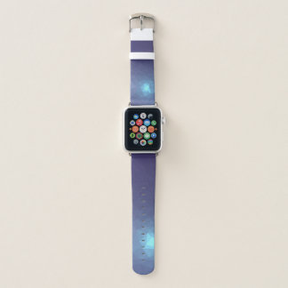 Abstrakte u. moderne Geo Entwürfe - Kometen-Tanz Apple Watch Armband
