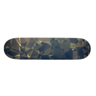 Abstrakte u. saubere Geo Entwürfe - 18,1 Cm Old School Skateboard Deck