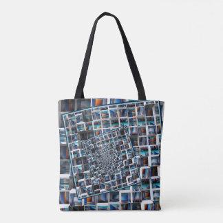 Abstrakte Unendlichkeit Tasche