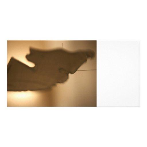Abstrakte Unschärfe der braunen Tönungen Bild Karte