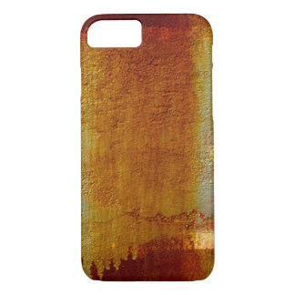 ABSTRAKTE WAND-BESCHAFFENHEIT ROSTIGE iPhone 7 iPhone 8/7 Hülle