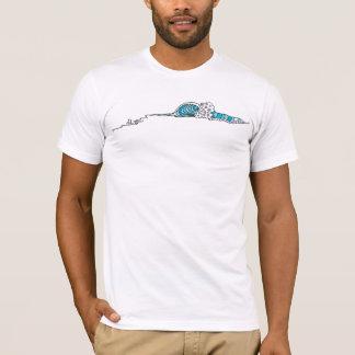 Abstrakte Welle (Brandungs-Kunst) T-Shirt