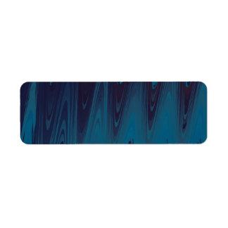 Abstrakte Wellen im Blau