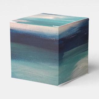 Abstrakte Wellen - Kasten Geschenkschachtel