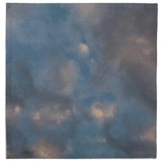 Abstrakte Wolken Serviette