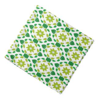 Abstrakter Blatt-Entwurf Kopftuch