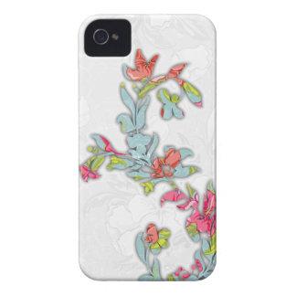 Abstrakter BlumeniPhone 4s Fall Case-Mate iPhone 4 Hüllen